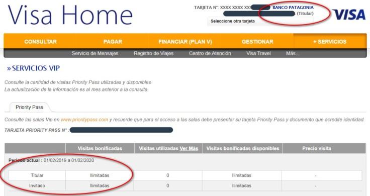 2019-03-04 - Visa Patagonia Titular