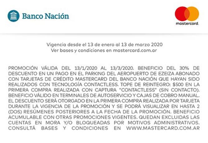 13-01-20 - Mastercar Contactless Ezeiza 1